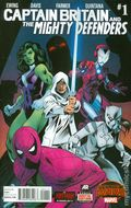 Captain Britain and the Mighty Defenders (2015 Marvel) 1A