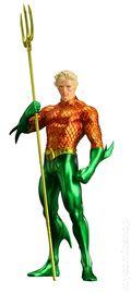 DC Comics The New 52 Aquaman Statue (2015 ArtFX) ITEM#1