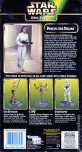 Star Wars Epic Force Princess Leia Organa 360 Rotate Figure (1998 Kenner) #69843
