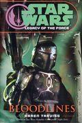 Star Wars Legacy of the Force Bloodlines HC (2006 Del Rey Novel) 1-1ST