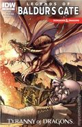 Dungeons and Dragons Legends of Baldur's Gate (2014 IDW) 4RI
