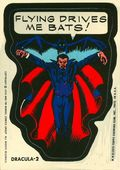 Topps Marvel Comic Book Heroes Sticker Trading Cards (1975) DRACULA-2