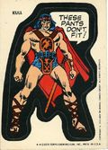 Topps Marvel Comic Book Heroes Sticker Trading Cards (1975) KULL