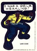 Topps Marvel Comic Book Heroes Sticker Trading Cards (1975) LUKECAGE