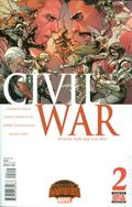 Civil War (2015 Marvel) Secret Wars 2A