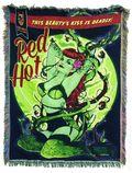 DC Comics Bombshells Poison Ivy Tapestry Blanket (2015) ITEM#1