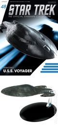 Star Trek The Official Starship Collection (2013 Eaglemoss) Magazine and Figure #048