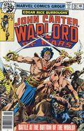 John Carter Warlord of Mars (1977 Marvel) Mark Jewelers 20MJ