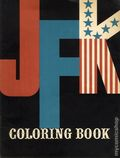 JFK Coloring Book SC (1962 Kanrom) 1-1ST