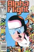 Alpha Flight (1983 1st Series) Mark Jewelers 40MJ
