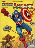 Captain America Coloring Book SC (1966 Whitman) #1181