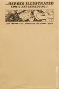 Heroes Illustrated Comic Art Catalog (1975) 1