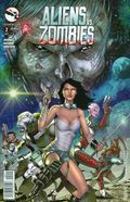 Aliens vs. Zombies (2015 Zenescope) 2A