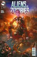 Aliens vs. Zombies (2015 Zenescope) 2C