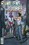 Aliens vs. Zombies (2015 Zenescope) 2D
