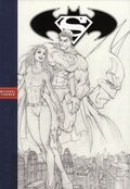 Superman/Batman HC (2015 DC/Graphitti Designs Gallery Edition) By Jeph Loeb and Michael Turner 1-1ST
