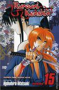 Rurouni Kenshin GN (2003-2006 Shonen Jump Edition Digest) 15-1ST