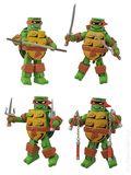 MiniMates: Teenage Mutant Ninja Turtles Full Color Set (2015 ArtAsylum) SET#1