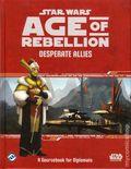 Star Wars Age of Rebellion Desperate Allies HC (2015 Fantasy Flight) RPG Sourcebook for Diplomats 1-1ST