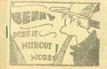 Benny Does it Without Words (c.1935 Tijuana Bible) 0