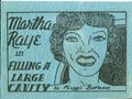 Martha Raye in Filling a Large Cavity (c.1935 Tijuana Bible) 0