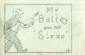 Mr Bailey and the Steno (c.1935 Tijuana Bible) D8