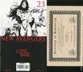 New Avengers (2005 1st Series) 23B.DF.SIGNED