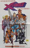 X-Force Mutant Genesis Promotional Poster (1991 Marvel) 1