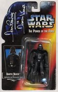 Star Wars Action Figure (1995-1997 Kenner) Signed Package VADER-95