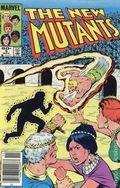 New Mutants (1983 1st Series) Mark Jewelers 9MJ