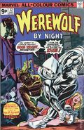 Werewolf by Night (1972 1st Series) UK Edition 32UK