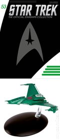 Star Trek The Official Starship Collection (2013 Eaglemoss) Magazine and Figure #053