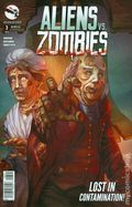 Aliens vs. Zombies (2015 Zenescope) 3D