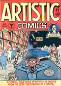 Artistic Comics (1973 Golden Gate/Kitchen Sink) #1, 2nd Printing