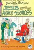 Jesus Meets The Armed Services (1970 Rip Off Press) #1, 2nd Printing