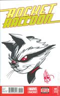 Rocket Raccoon (2014 2nd Series) 1G.DF.SIGNED