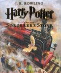 Harry Potter and The Sorcerer's Stone HC (2015 Scholastic Novel) Illustrated Edition 1-1ST