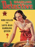 Headline Detective (1939-1944) True Crime Magazine Vol. 1 #3