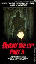 Friday the 13th PB (1986-1988 A Signet Novel) Movie Adaptations 3-1ST