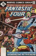 Fantastic Four (1961 1st Series) Whitman Variants 195