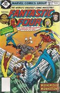 Fantastic Four (1961 1st Series) Whitman Variants 202
