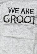 Guardians of the Galaxy We Are GROOT T-Shirt (2015 Mad Engine) #XL