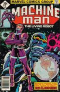 Machine Man (1978 1st Series) Whitman Variants 5