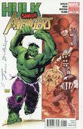 Hulk Smash Avengers (2012) 1DFSIGNEDSILV