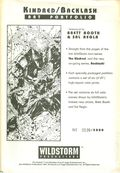 Kindred/Backlash Art Portfolio (1994) 1