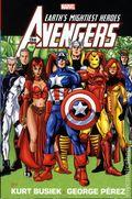 Avengers Omnibus HC (2015 Marvel) By Kurt Busiek and George Pérez 2-1ST