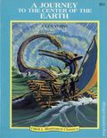 Troll Illustrated Classics: A Journey to the Center of the Earth SC (1990 Troll) By Jules Verne 1-1ST