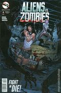 Aliens vs. Zombies (2015 Zenescope) 4C