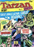 Tarzan Monthly TPB (1978 UK Magazine) 1-1ST