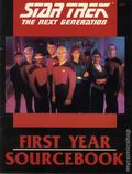 Star Trek The Next Generation First Year Sourcebook SC (1989 FASA) Role-Playing Game #2227